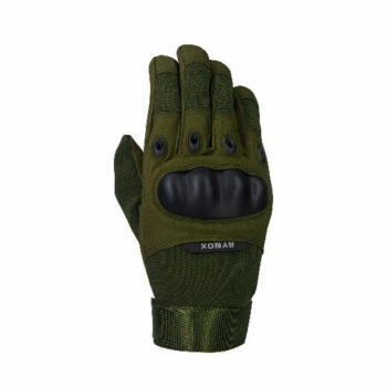 Rynox Recon Green Riding Gloves 1
