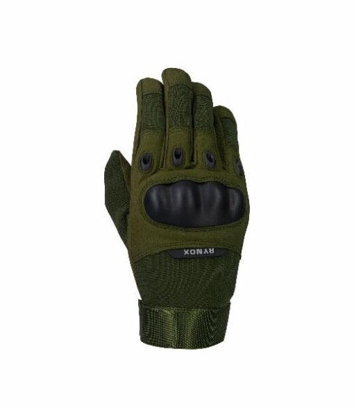 Rynox Recon Green Riding Gloves 1