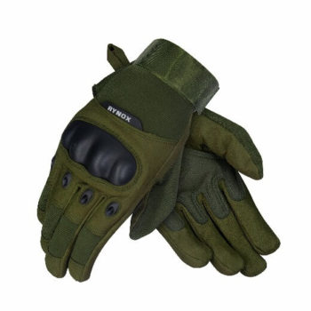 Rynox Recon Green Riding Gloves