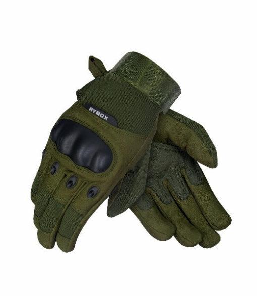 Rynox Recon Green Riding Gloves