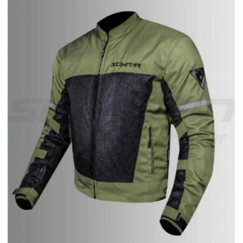 Scimitar Metro Jacket Green Black 1