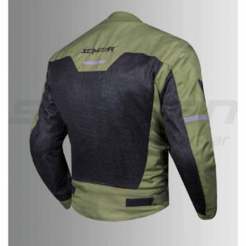 Scimitar Metro Jacket Green Black 2