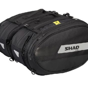 Shad SL 58 Black Grey Saddle Bag 1