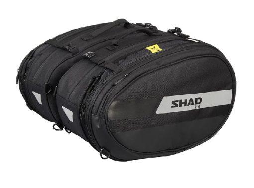 Shad SL 58 Black Grey Saddle Bag 1