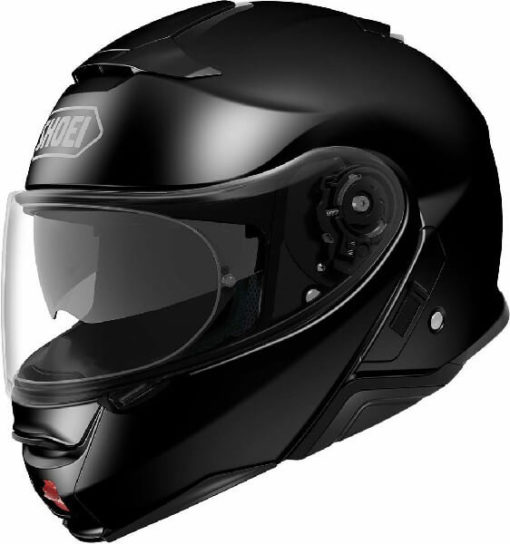 Shoei X Neotech 2 Gloss Black Flip Up Helmet