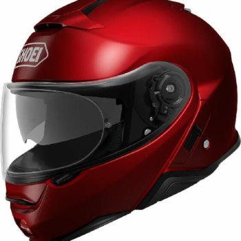 Shoei X Neotech 2 Gloss Red Flip Up Helmet