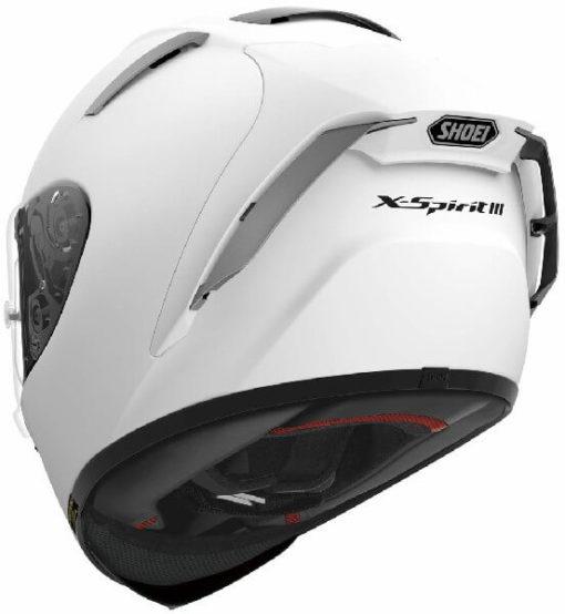 Shoei X Spirit III Gloss White Full Face Helmet 1