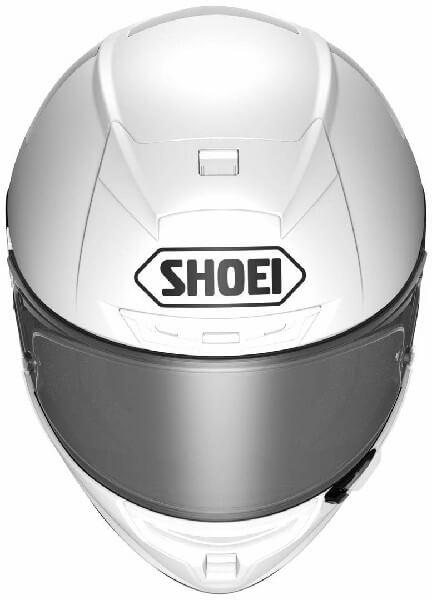 Shoei X Spirit III Gloss White Full Face Helmet 2