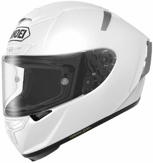 Shoei X Spirit III Gloss White Full Face Helmet
