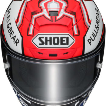 Shoei X Spirit III Marquez 5 Gloss Red White Blue Full Face Helmet 2