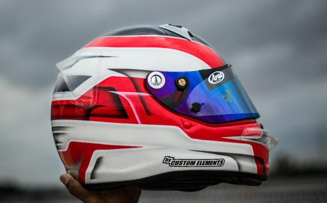 Thrishal Racing Custom Painted Helmet 2