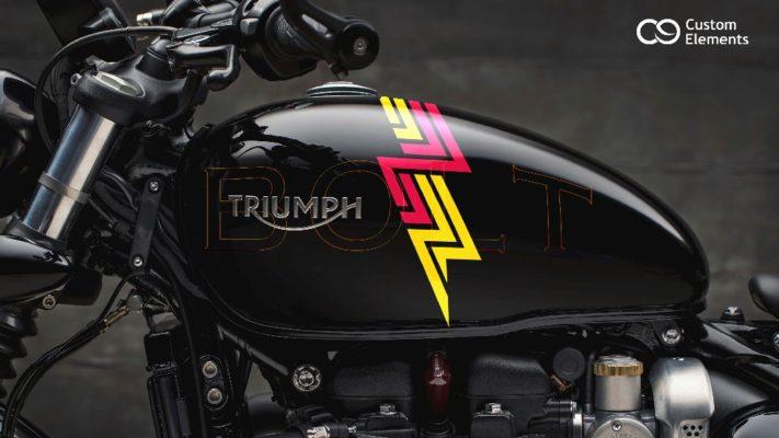 Triumph Bobber Custom Design