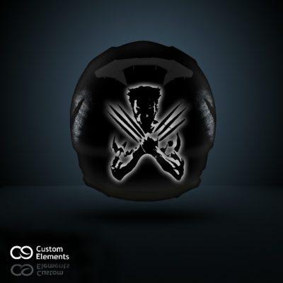 Wolverine Custom Designed Helmet