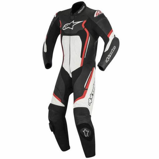 Alpinestars Motegi V2 1PC Leather Black Red White Suit