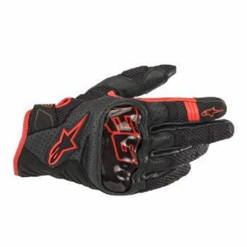 Alpinestars Rio Hondo Black Red Riding Gloves