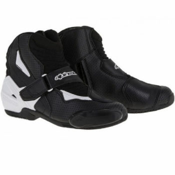Alpinestars SMX 1 R Vented Black White Boots
