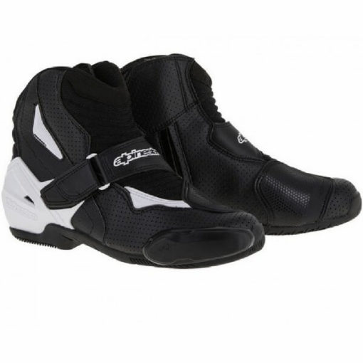 Alpinestars SMX 1 R Vented Black White Boots