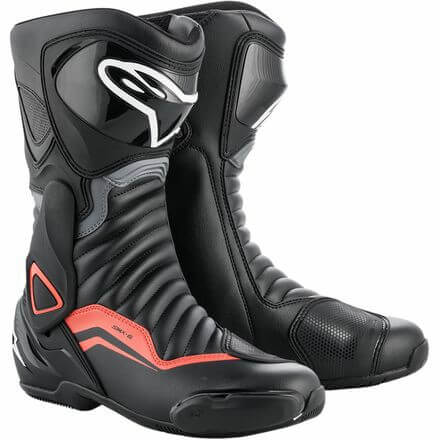 Alpinestars SMX 6 V2 Black Gray Red Boots
