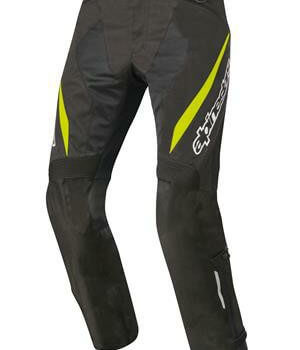 Alpinestars Stricker Air Black Fluorescent Yellow Riding Pants