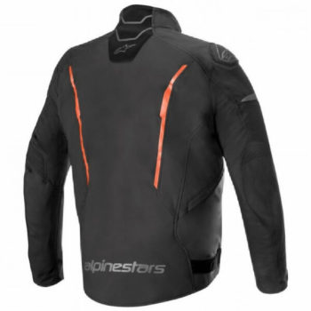 Alpinestars T Fuse Sport Shell Waterproof Black Fluorescent Red Jacket 1