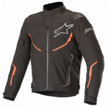 Alpinestars T Fuse Sport Shell Waterproof Black Fluorescent Red Jacket