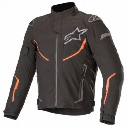 Alpinestars T Fuse Sport Shell Waterproof Black Fluorescent Red Jacket