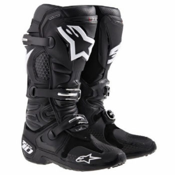 Alpinestars Tech 10 Black Riding Boots