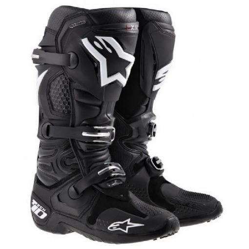 Alpinestars Tech 10 Black Riding Boots
