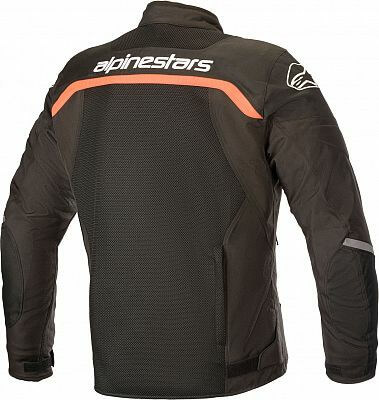 Alpinestars Viper V2 Air Textile Black Fluorescent Red Jacket 1