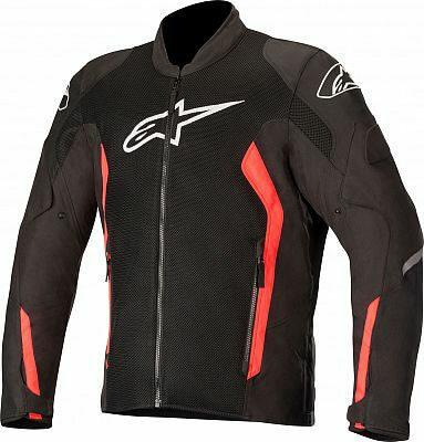 Alpinestars Viper V2 Air Textile Black Fluorescent Red Jacket