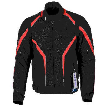 BBG I Ride I Live Black Red Riding Jacket