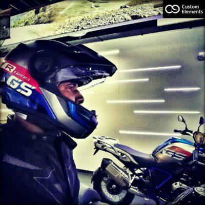 BMW R1200GS Helmet