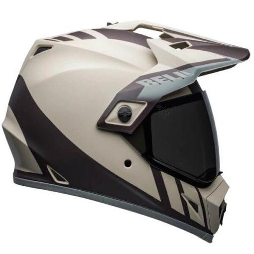 Bell MX 9 Adventure MIPS Dash Matt Sand Brown Grey Dual Sport Helmet 2