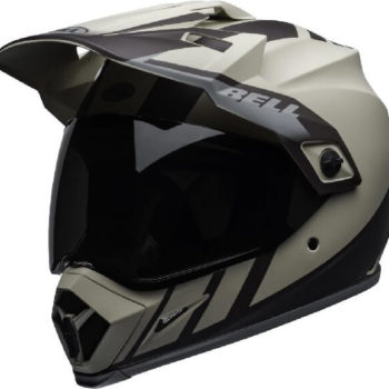 Bell MX 9 Adventure MIPS Dash Matt Sand Brown Grey Dual Sport Helmet