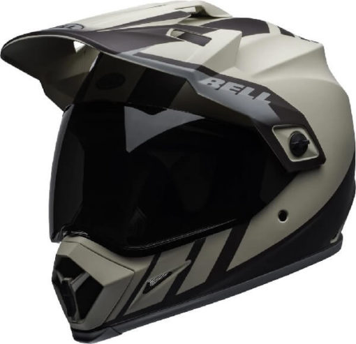 Bell MX 9 Adventure MIPS Dash Matt Sand Brown Grey Dual Sport Helmet