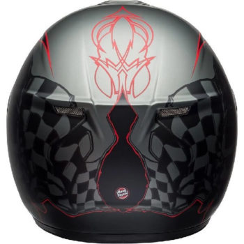 Bell SRT Hart Luck Gloss Matt Black White Red Full Face Helmet 1