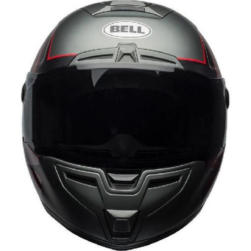 Bell SRT Hart Luck Gloss Matt Black White Red Full Face Helmet 2