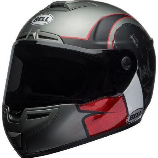Bell SRT Hart Luck Gloss Matt Black White Red Full Face Helmet