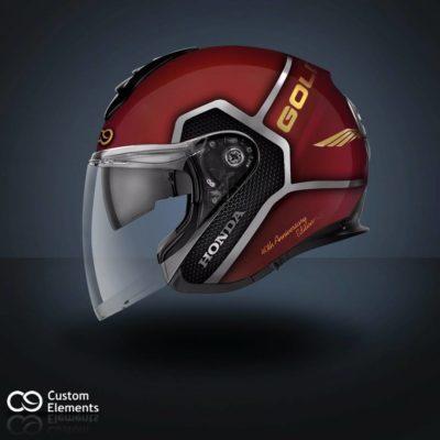 Honda Goldwing Custom Helmet 1