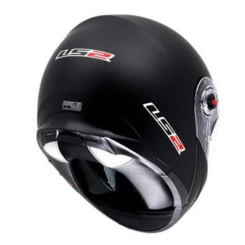 LS2 FF386 Solid Matt Black Flip Up Helmet 1
