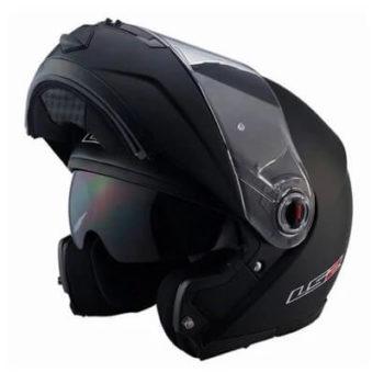 LS2 FF386 Solid Matt Black Flip Up Helmet