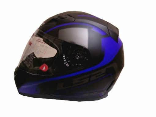 LS2 FF391 Night Breaker Matt Black Blue Full Face Helmet