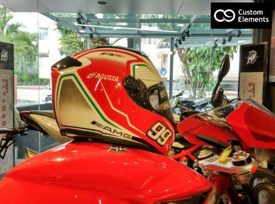 MV Agusta F4 RC Custom Helmet 4