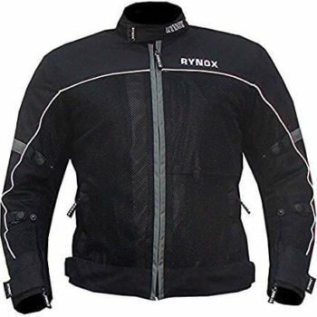 Rynox GT Air V2 Black Riding Jacket