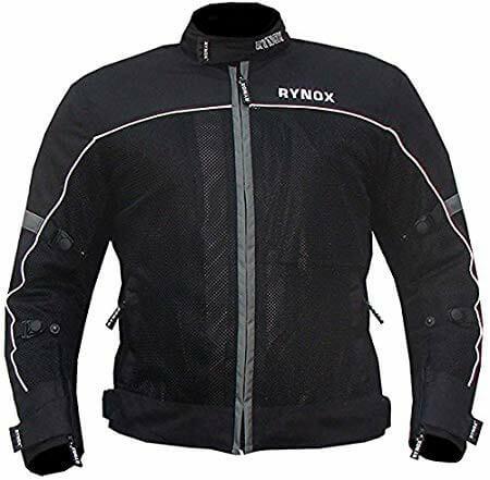 Rynox GT Air V2 Black Riding Jacket