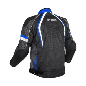 Rynox Tornado Pro V3 Black Blue Riding Jacket 1