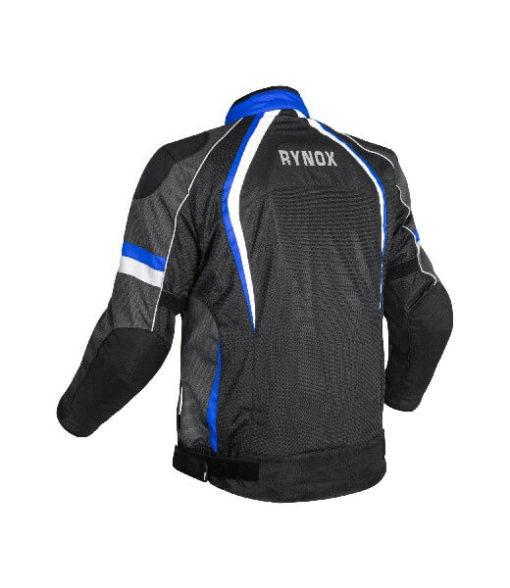 Rynox Tornado Pro V3 Black Blue Riding Jacket 1