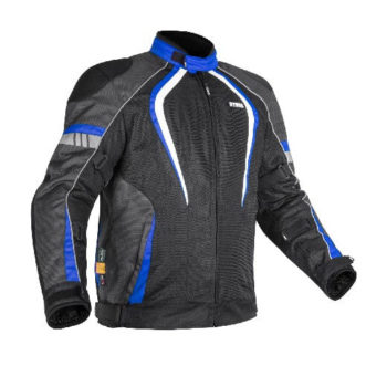 Rynox Tornado Pro V3 Black Blue Riding Jacket