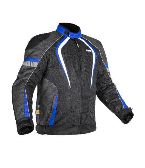 Rynox Tornado Pro V3 Black Blue Riding Jacket