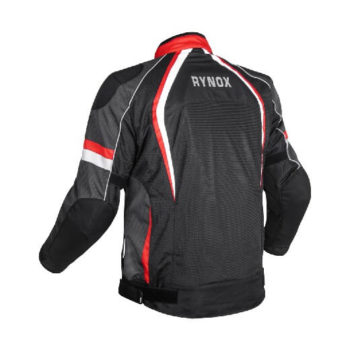 Rynox Tornado Pro V3 Black Red Riding Jacket 1